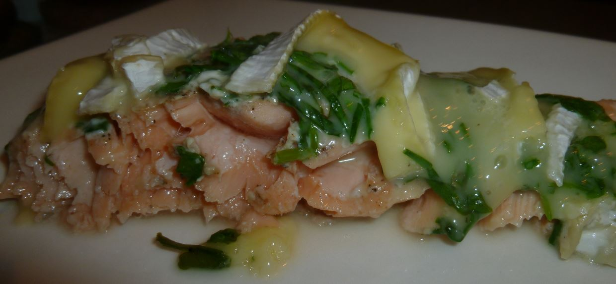 zalm in whisky
