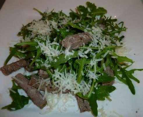 Biefstuk salade tagliata